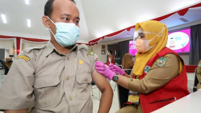 Sudah 1.017 ASN dan Pelayan Publik Disuntik Vaksin Covid di Palopo