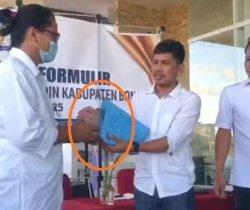 Pendaftaran Calon Ketua Kadin Bone Rp100 Juta