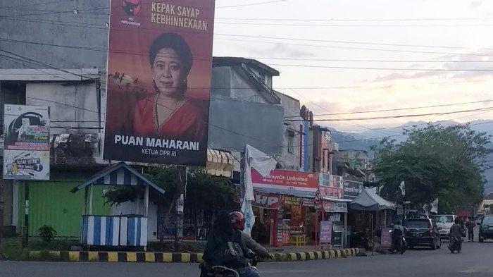 Baliho Puan Maharani Juga Ramai di Palopo