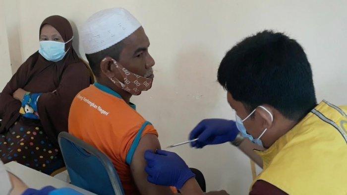 Baru 1.283 Lansia di Kota Palopo Disuntik Vaksin Covid-19