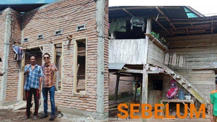 Penerima BSPS di Bulukumba Sebut-sebut Nama Iwan Darmawan Aras