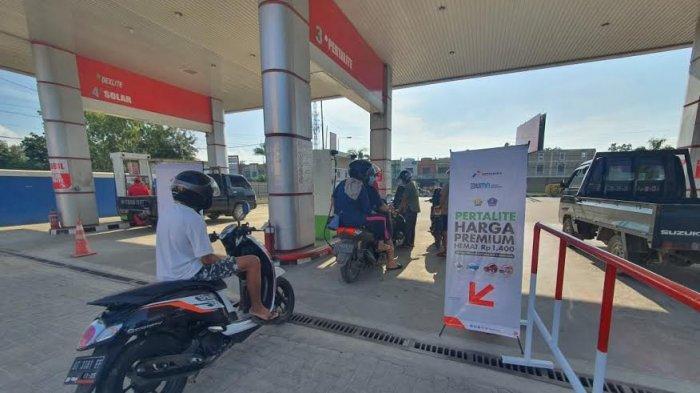 Ini Daftar 34 SPBU di Makassar Jual Pertalite Rp 6.450 per Liter