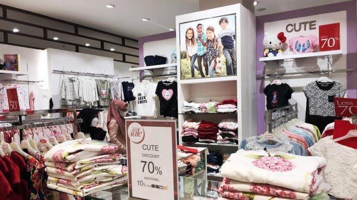 Buruan, Fesyen Bayi dan Anak Diskon 70% di Metro TSM Makassar