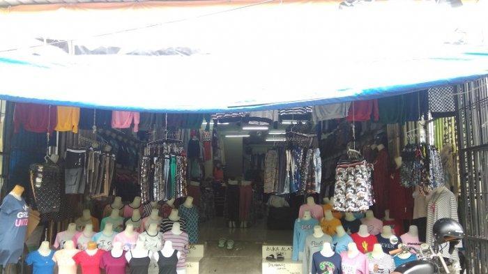 Imbas Virus Corona, Omset Pedagang Pakaian Dekat Pasar Butung Turun hingga 80 Persen