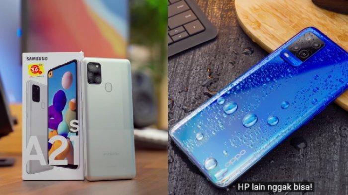 Mana Bagus Oppo A54 & Samsung A21s? Sama-sama RAM 6GB & Baterai 5.000 mAh