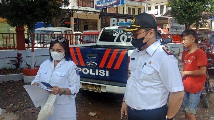 Razia di Jalan Poros Makale - Rantepao, Samsat Toraja Utara Temukan 20 Pengendara Menunggak Pajak