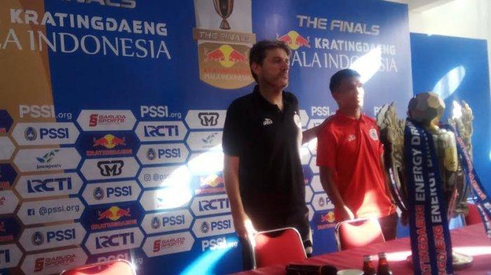 Final Piala Indonesia 2018 - Pelatih Persija Ngaku Tahu Cara Tepat Atasi PSM Makassar