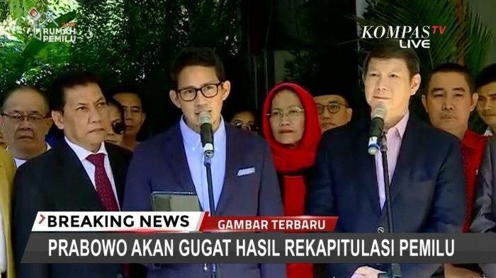Bawa 51 Bukti ke MK, Pengacara Ungkap Keinginan Utama Prabowo-Sandi Sesungguhnya Kepada Jokowi-Maruf