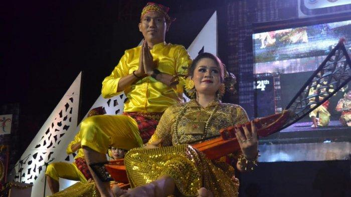 Aksi Warga Binaan Lapas Polewali Meriahkan Panggung PIFAF 2019