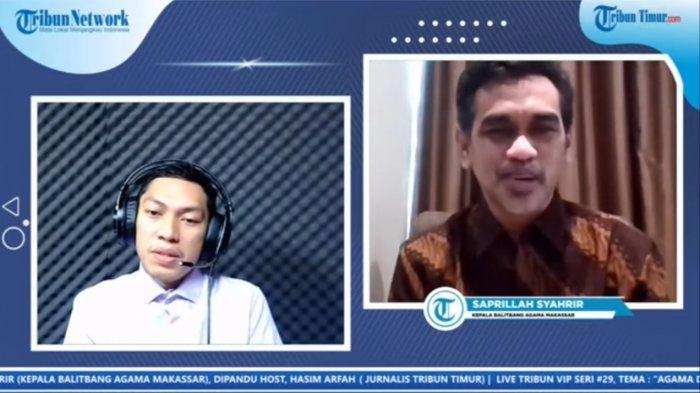 Saprillah Syahrir: Tugas Balitbang Makassar Evaluasi Data Kebijakan Keagamaan, Seperti Syarat ini