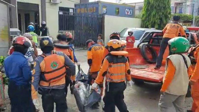 Bocah yang Ditemukan Tewas Tenggelam di Sungai Jeneberang Dievakuasi ke RS Bhayangkara Makassar