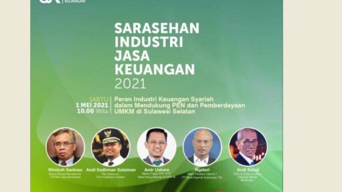 OJK Bahas Peran Industri Keuangan Syariah dalam Mendukung PEN dan UMKM Sulsel
