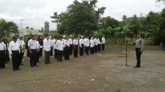 Apel Kamtibmas di Maiwa, Binmas Polres Enrekang Imbau ASN Tak Lakukan Pungli