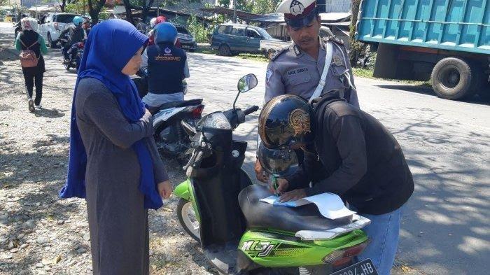 1.726 Pelanggar Lalu Lintas Ditilang Selama Operasi Patuh di Luwu Utara