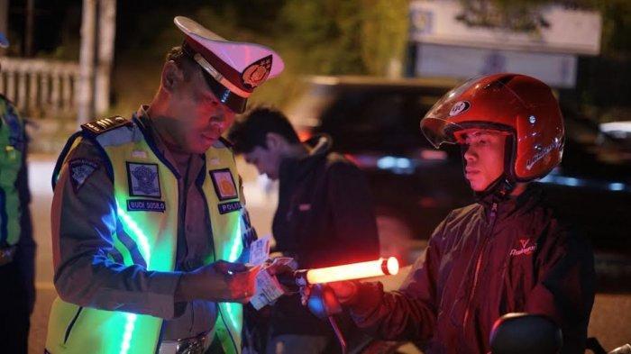 Operasi Malam Hari, Satlantas Polres Parepare Sita Puluhan Kendaraan