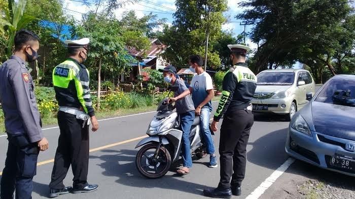 Dalam 2 Bulan, Polisi Amankan 40 Sepeda Motor Berknalpot Bising di Sinjai