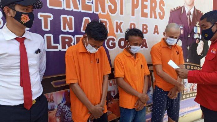 Edarkan Sabu di Gowa, Bandar dan Pengedar Asal Parepare Ditangkap Polisi