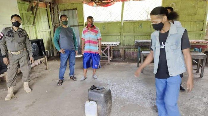 Ditemukan Jual Ballo, Tiga Pemilik Kafe di Parepare Diminta Bongkar Tempat Usahanya