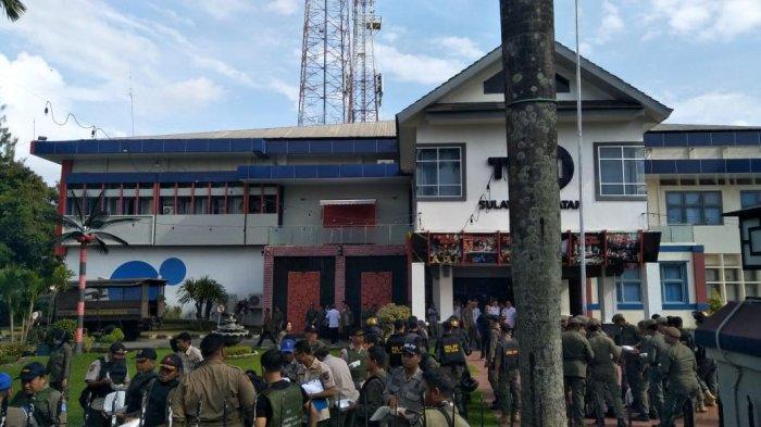 BREAKING NEWS: Satpol PP Mulai Persiapan Penertiban di Stadion Mattoanging Makassar