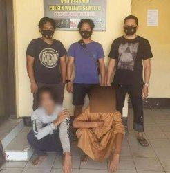 Dua Pelaku Pencurian Kotak Amal Mesjid St Halimah Pinrang Ditangkap Polisi