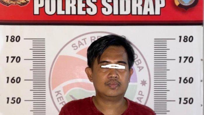 Residivis Narkoba di Sidrap Kembali Diamankan Polisi