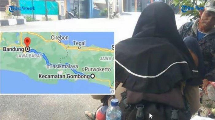 VIDEO: Dani Bawa Istri dan 2 Anaknya Jalan Kaki Selama 6 Hari dari Jateng ke Bandung, Ini Ceritanya