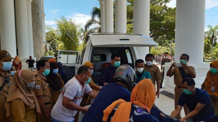 1 Peserta Vaksinasi di Polman Pingsan, Kadis Kesehatan: Kondisi Fisiknya Lemas karena Lapar