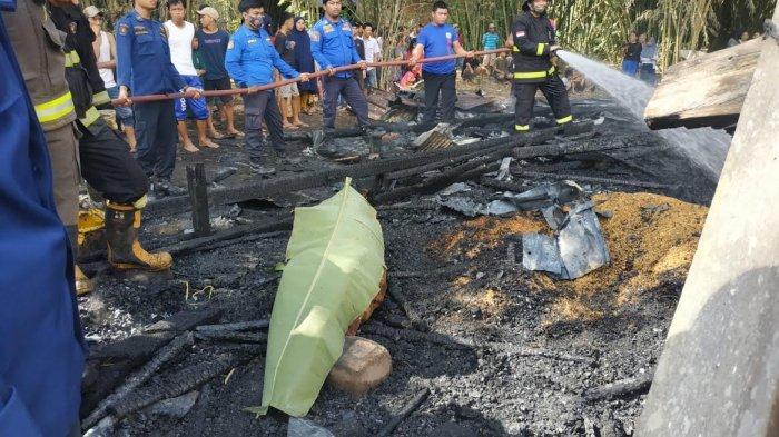 BREAKING NEWS: Rumah Hamja di Simbang Maros Terbakar, Satu Orang Meninggal Dunia