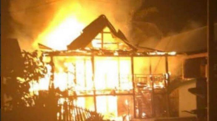BREAKING NEWS: Kebakaran di Kampung Bulloe Jeneponto, Enam Orang Tewas