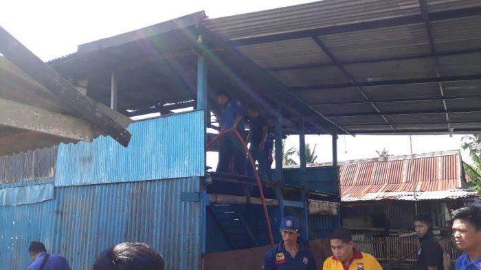 Satu Rumah Panggung Terbakar di Kampung Appaka Sungguh Pangkep