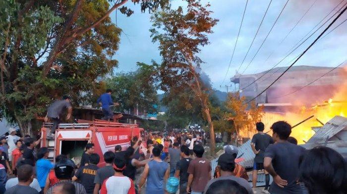 Kapolres Enrekang Ungkap Penyebab Kebakaran di Rumah Orang Tua Komisioner Bawaslu