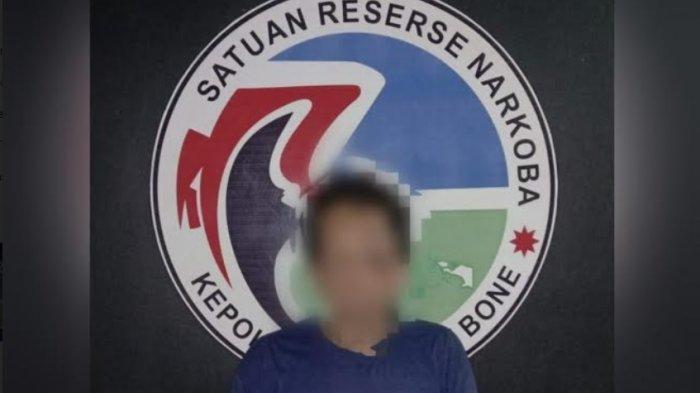 Polisi Tangkap Penyalahguna Narkotika di Pakkasalo Bone