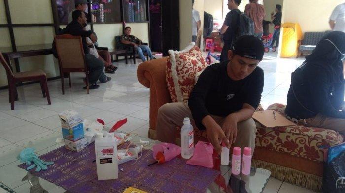 Grebek Salon Kecantikan di Jl Emmy Saelan, Satreskrim Polrestabes Makassar Amankan Barang Bukti Ini