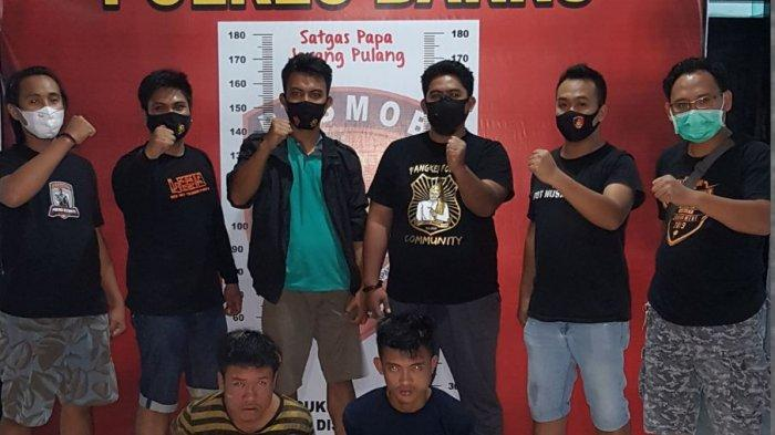 Pencuri Tabung Gas Ditangkap di Hutan Kamiri Barru