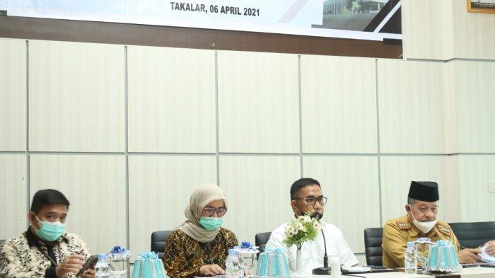 Tim Korsupgah KPK Audiensi dan Koordinasi di Takalar