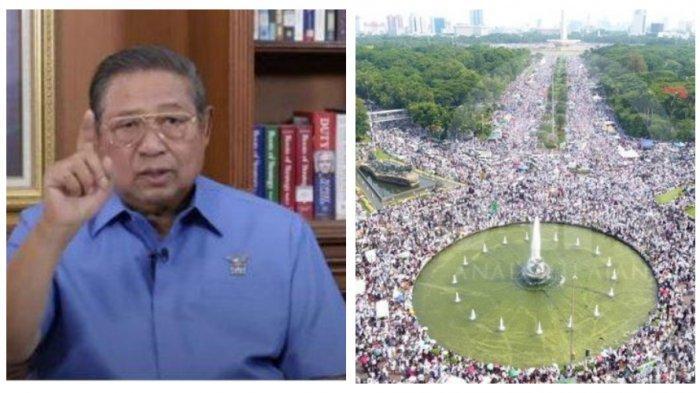 Siapa Petinggi Bintang 4 yang Adukan SBY ke Presiden Jokowi Menunggangi dan Mendanai Aksi 212?