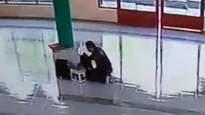 Kotak Amal Masjid Nurut Taqwa Kulinjang Enrekang Dicuri, Pelaku Terekam CCTV