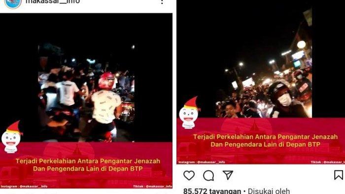 Pengantar Jenazah Berkelahi dengan Pengendara di BTP Makassar, Polisi: Kami Tunggu Laporan Korban
