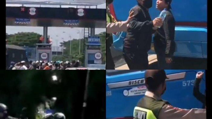 Rombongan Pengantar Jenazah di Makassar Pukul Petugas Tol