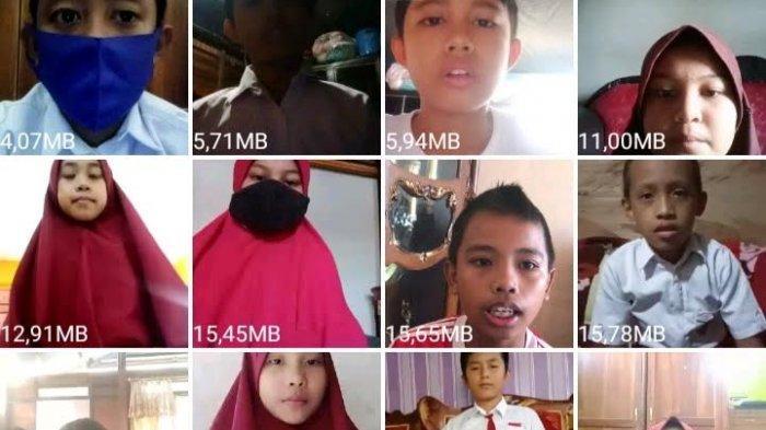 Sambut HUT ke-61 Kabupaten Enrekang, SDN 100 Salokaraja Gelar Lomba Pidato Daring