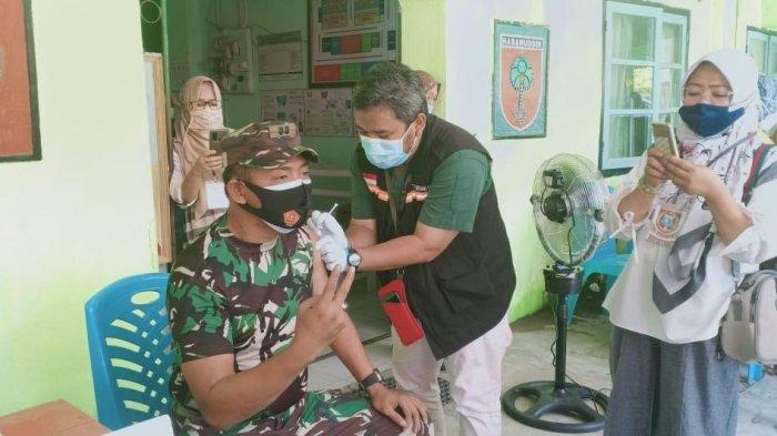 227 Tentara di Polman Divaksin Tahap Kedua