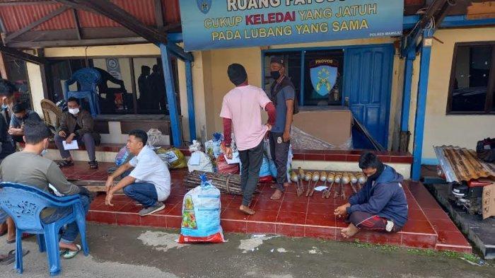 Gunakan Pupuk Cantik untuk Bom Ikan, 11 Nelayan di Mamuju Terancam 5 Tahun Penjara
