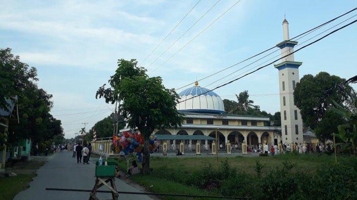 Hewan Kurban di Masjid Jabal Rahmah Wotu Luwu Timur Terkumpul 15 Sapi dan 4 Ekor Kambing