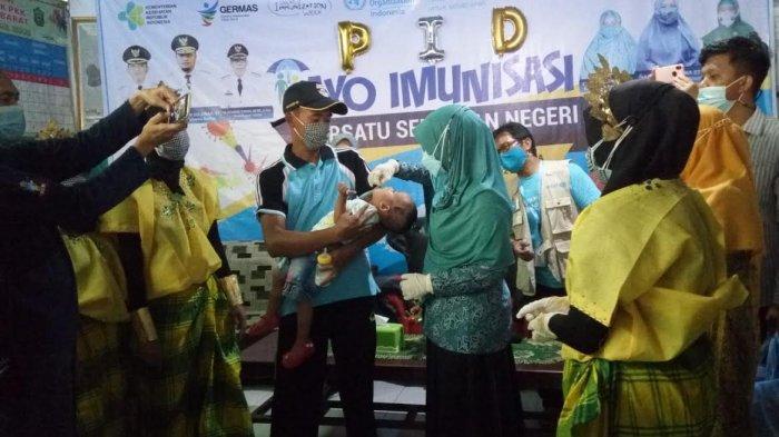 Takalar Jadi Pusat Pelaksanaan Pekan Imunisasi Dunia di Sulsel