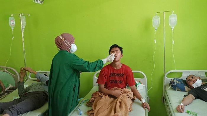 Diduga Keracunan, Hasil Antigen Puluhan Santri di Takalar Negatif