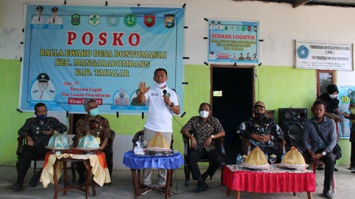 Bupati Takalar Serahkan 540 Sertifikat Tanah di Desa Bontomanai