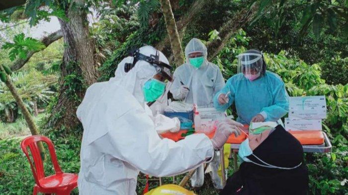 Pos Penyekatan Pinrang-Polman Diperpanjang, 55 Pemudik di Swab Antigen