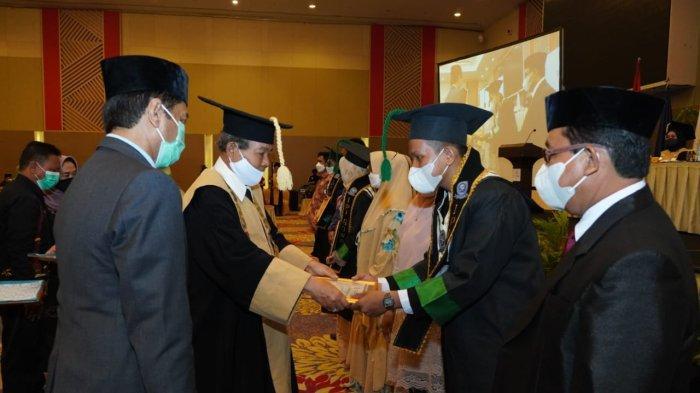 91 Mahasiswa IPI Diwisuda Gelombang Kedua, 46 Dapat Gelar Sarjana Pendidikan dan 45 Sarjana Ekonomi