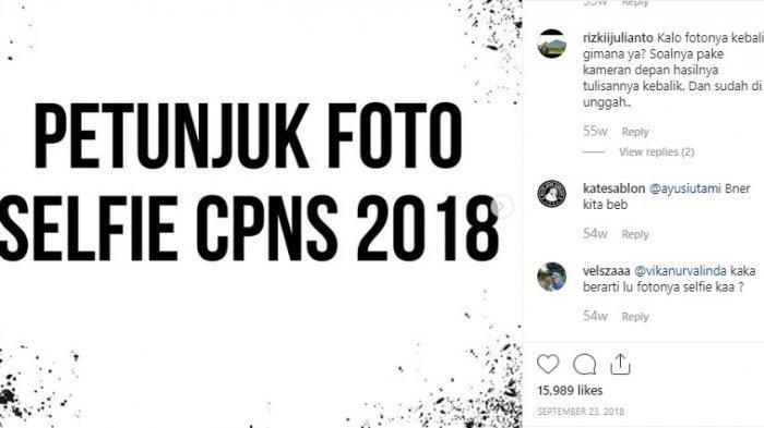 Sebelum Daftar CPNS 2019, 3 Ketentuan Foto Selfie yang Diunggah, Posisi KTP & Akun SSCN Harus Gini
