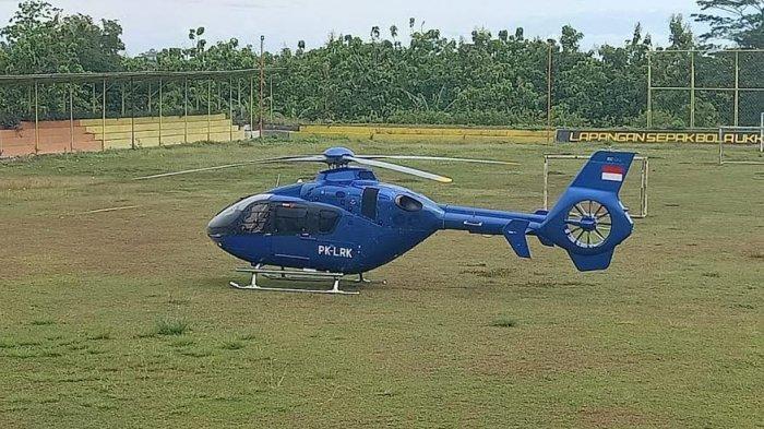 Cuaca Buruk, Helikopter Rute Kendari-Makassar Dua Kali Mendarat Darurat di Soppeng